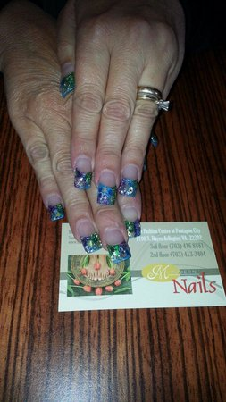 The Fashion Centre at Pentagon City: Modern nails 3rd floor.  Ask for amy