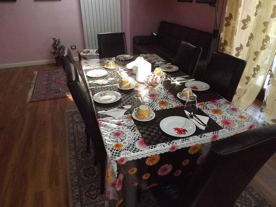 Il Gelsomino: breakfast room