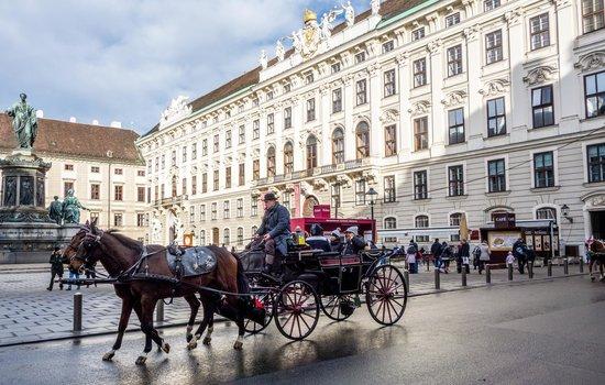 Hofburg: Café com vista