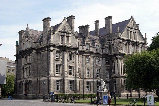 Trinity College: Facoltà all'interno