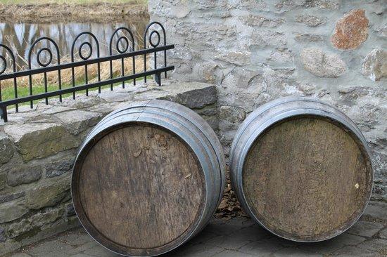 The Grange of Prince Edward Vineyards and Estate Winery: Barrels