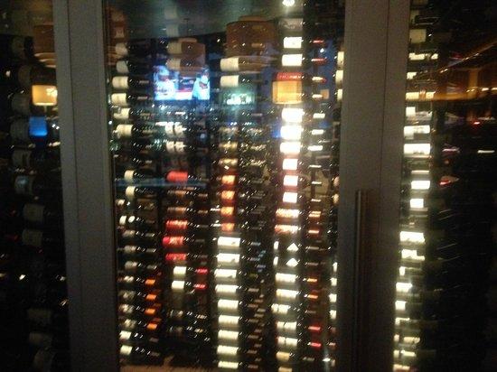 333 Pacific - Steaks & Seafood: Wine cellar