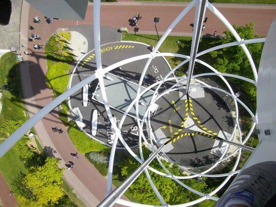 Futuroscope : Vue depuis l'aérobar