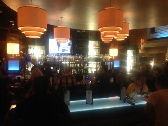 333 Pacific - Steaks & Seafood: The bar