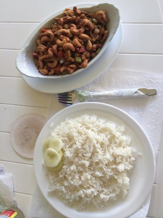 Warung Jawa Smulboetiek: Chicken with cashewnuts
