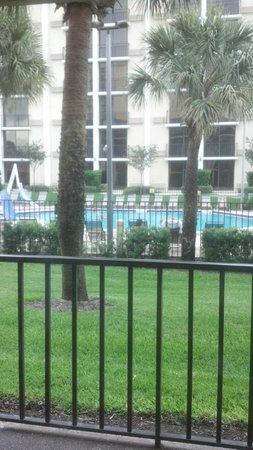 Rosen Inn pool view Room 164