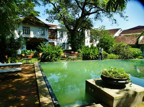 Old Harbour Hotel: The Pool/Garden Area