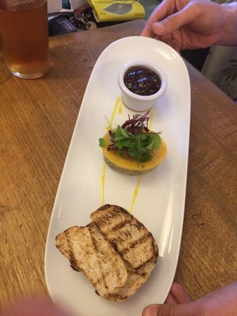 The Bugle Inn: Potted Shrimp