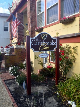 Carisbrooke Inn Bed and Breakfast : sign