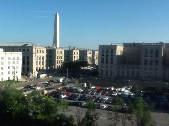 Mandarin Oriental, Washington DC: View from room 554