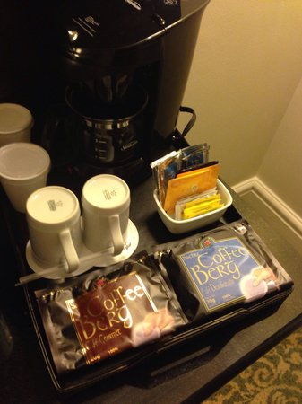 JW Marriott Hotel Rio de Janeiro: Coffee machine in the bedroom... Bliss