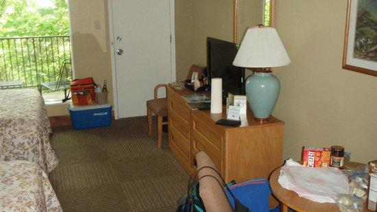 Hemlock Lodge : Our room