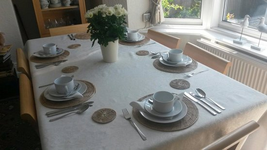 The Norwood Guest House: Breakfast room