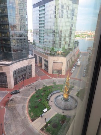 Hilton Garden Inn Baltimore Inner Harbor: View from our room