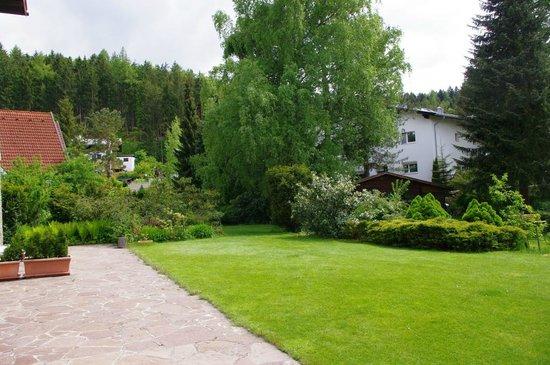 Waldhaus Igls : Back yard