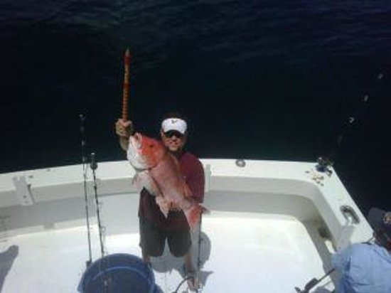 Charter Boat Twilight: Giant Red Snapper Charter Fishing in Destin