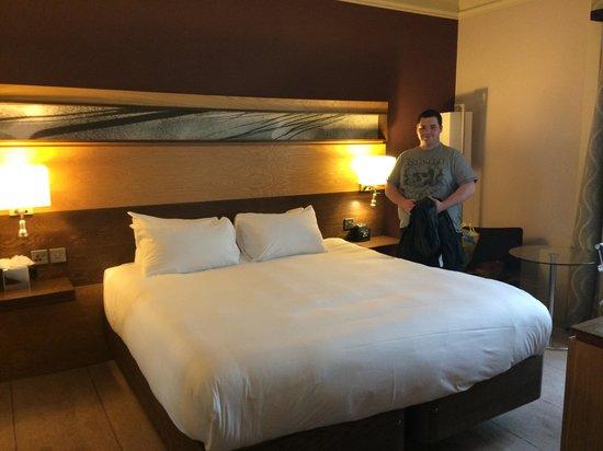 Hilton Edinburgh Grosvenor : Double Compact Room