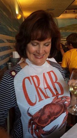 Cracked Crab : Dressing for dinner!