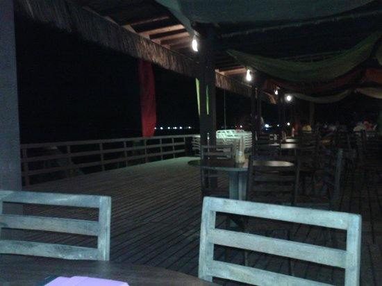 Pontal De Ocapora: vista desde la terraza del comedor