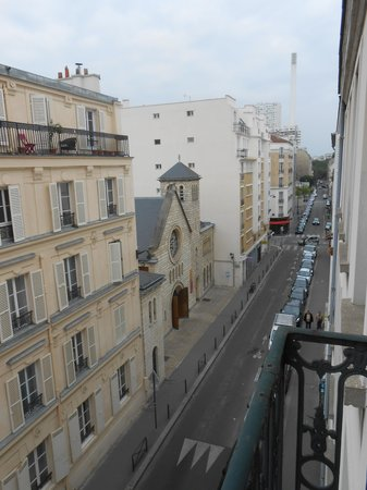 Pacific Hotel : vista dal balcone
