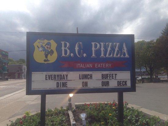 B.C. Pizza: BC Pizza of St. Ignace