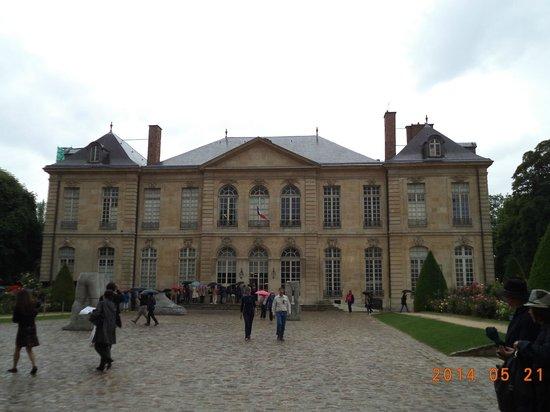 Musée Rodin : Front Building Facade