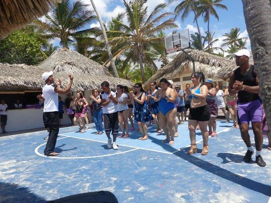 Paradisus Punta Cana Resort: Clase de Bachata