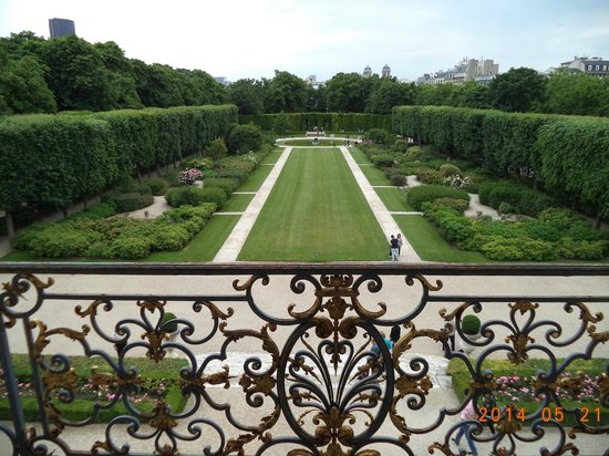 Musée Rodin : The back gardens