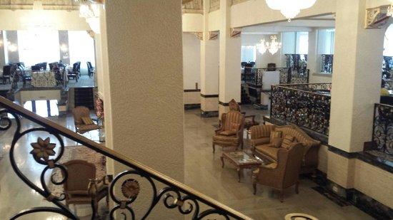 Floridan Palace Hotel: Lobby from mezzanine