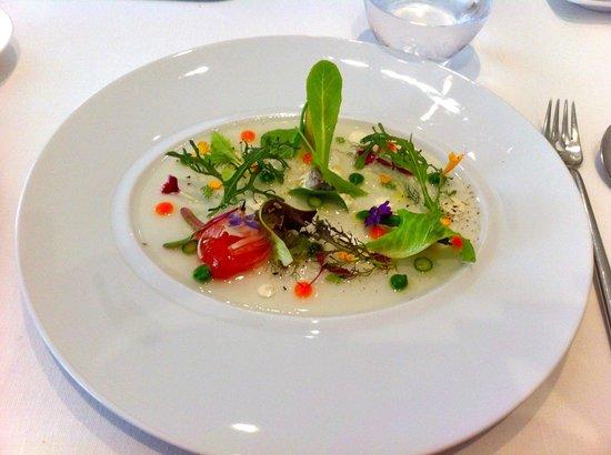 Restaurante Lasarte: Assiette vegetarienne