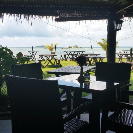 Bintan Spa Villa Beach Resort: View from the restaurant