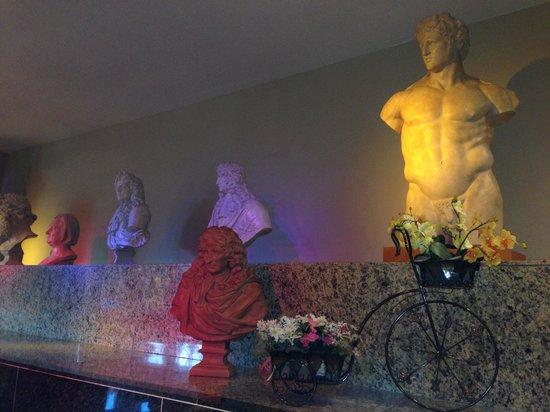 Hotel Princesa Parc: Très originale!