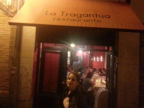 Restaurante La Tragantúa : De l 'extérieur