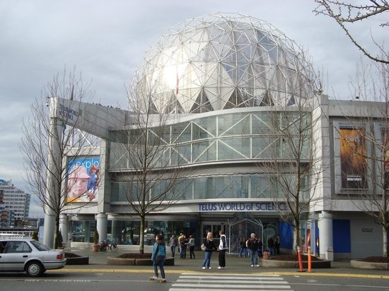 Science World : A entrada