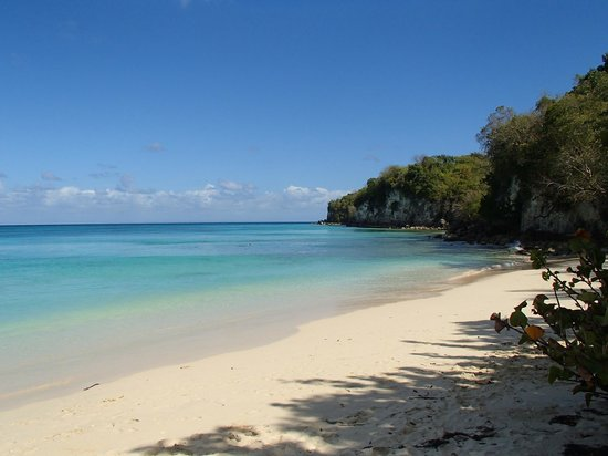Capesterre, Guadalupe: plage Marie Galante
