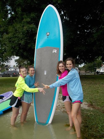Paddleboard Winter Haven: Sorority Sister Fun