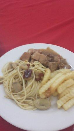 Hotel Posada de Tampico: Comida buffete