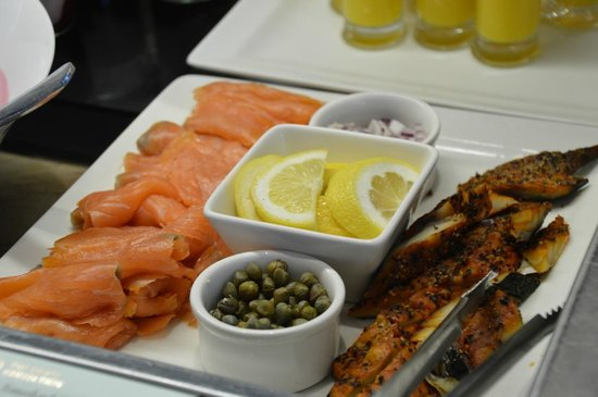 The River Lee : Loved the Smoked Salmon