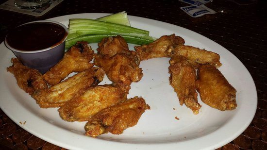 Fat Squirrel Pub & Grille: I absolutely love the wings here. I prefer my wings naked with a crispy outside and moist inside