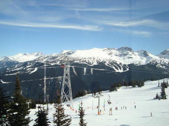 Peak 2 Peak Gondola: A vista