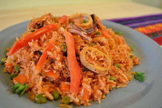 Chuyos Peruvian Fusion Deli : Seafood Rice