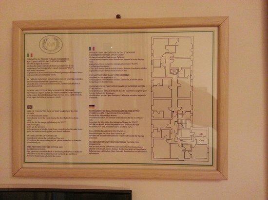 Villa Glori Hotel : Second Floor Plan