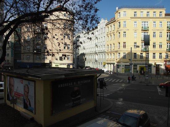 Eurostars Embassy Hotel: Vista desde la habitacion