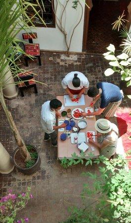 Riad Dar Zaman : Cooking class Dar Zaman