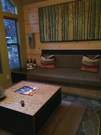 Glen Oaks Big Sur : Living Room