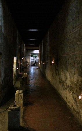 Hotel Museo Spa Casa Santo Domingo : one of the walkways from the old monastery