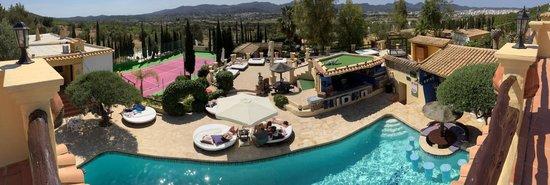 Pikes Ibiza: Panoramic view