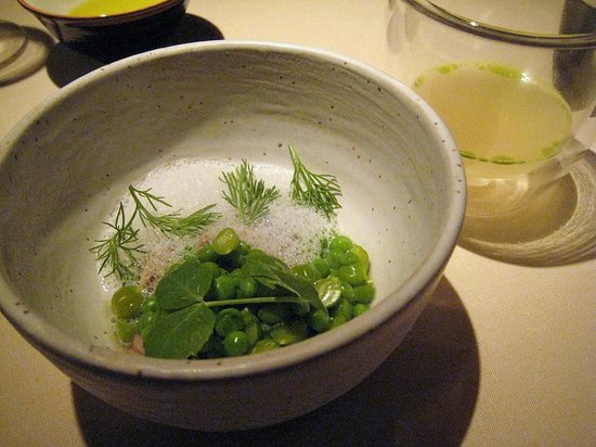Manresa : Suckling kid, curds and whey