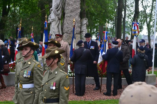 The Battlefields Experience : Rod at Anzac Day Ceremony