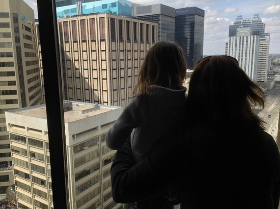 The Westin Edmonton: View from the 18th floor